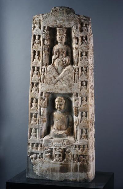 释迦弥勒四面造像碑