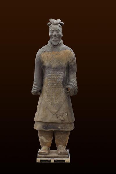 秦高级铠甲将军俑