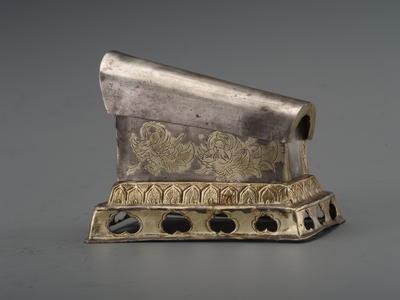鎏金迦陵频迦纹壶门座银棺