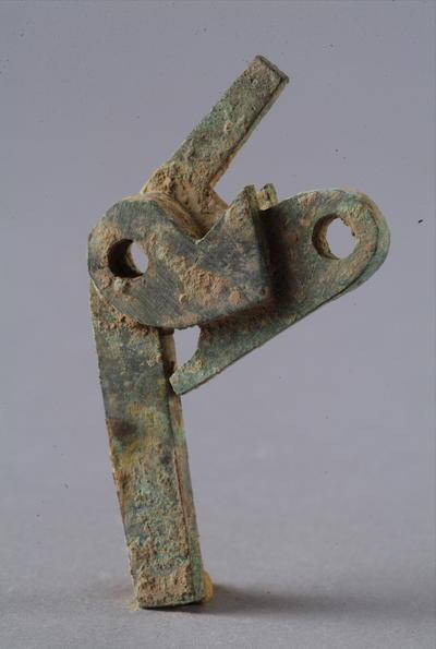 西汉铜弩机