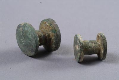 西汉亚腰形铜车马饰