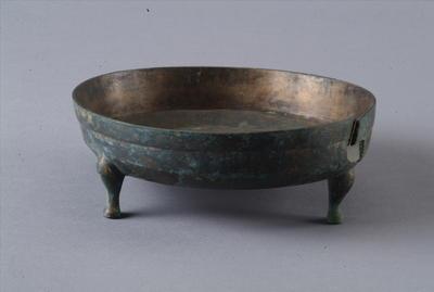 西汉铜三足铜洗