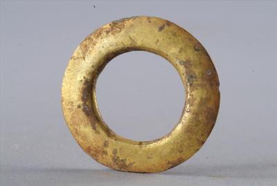 西汉鎏金铜圆形车马饰