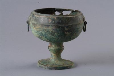 西汉铜熏炉