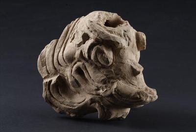 西汉陶脊兽